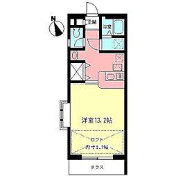ラ・クール[2階]の間取り
