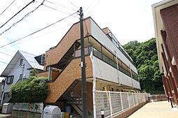 神奈川県川崎市多摩区菅城下の賃貸マンションの外観