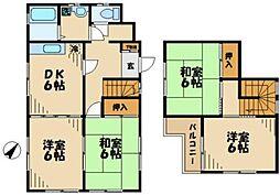 [一戸建] 神奈川県川崎市麻生区黒川 の賃貸【/】の間取り