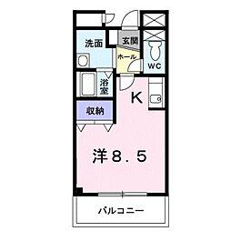 セルフィールST[2階]の間取り