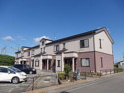 滋賀県高島市城山台1丁目の賃貸アパートの外観