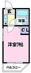 絢野一番館[3階]の間取り