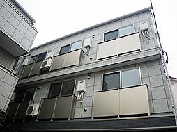 東京都荒川区東日暮里3丁目の賃貸アパートの外観