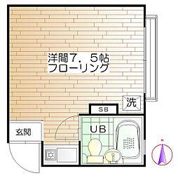 シェモア高円寺[1階]の間取り