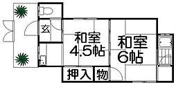 [テラスハウス] 大阪府枚方市養父元町 の賃貸【/】の間取り