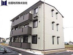 愛知県豊橋市牛川町字中郷の賃貸アパートの外観