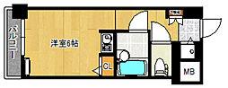 トーカン久留米駅東IIキャステール[205号室]の間取り