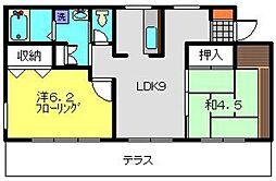スプリングステージ[102号室]の間取り
