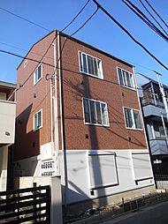東京都世田谷区上馬2丁目の賃貸アパートの外観