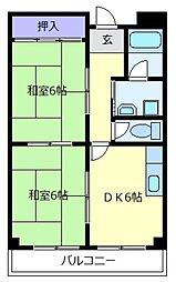 アートアイマンション[2階]の間取り