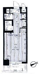 ライオンズステーションプラザ箱崎[1001号室]の間取り