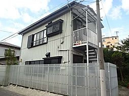 中條アパート[1階]の外観