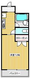 アート・フル稲田堤[3階]の間取り