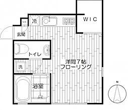 JUN CASA善福寺[1階]の間取り