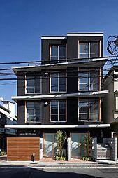 apartmentKURO四谷[1階]の外観