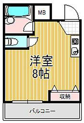 EST横沼[2階]の間取り