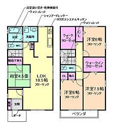 [一戸建] 大阪府豊中市宮山町4丁目 の賃貸【/】の間取り