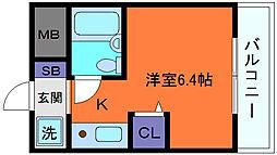 兵庫県神戸市東灘区魚崎南町8丁目の賃貸マンションの間取り
