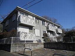 神奈川県川崎市多摩区東生田3丁目の賃貸アパートの外観