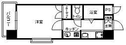 フォルム八田[205号室]の間取り