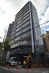 大阪府大阪市北区浮田2丁目の賃貸マンションの外観