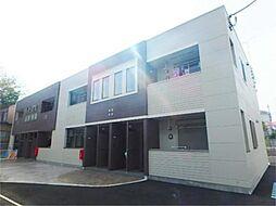 神奈川県相模原市中央区上矢部1丁目の賃貸アパートの外観