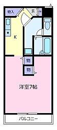 グランドノーブル[2階]の間取り