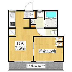 第二大羽ビル[2階]の間取り