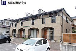 愛知県豊橋市飯村北3丁目の賃貸アパートの外観