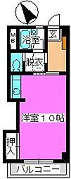 松田ハイツ[301号室]の間取り
