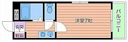 ボナール・サジキ[5階]の間取り