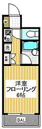 エミネント東高円寺[303号室]の間取り