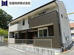 愛知県田原市六連町中郷中の賃貸アパートの外観