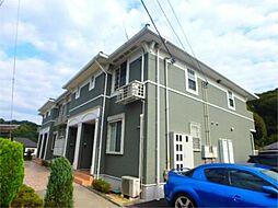 東京都町田市下小山田町の賃貸アパートの外観