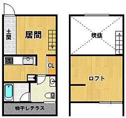 ORTUS AKAMATSU[202号室]の間取り
