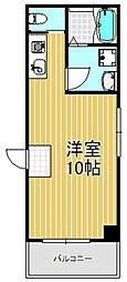 レジデンス小若江[2階]の間取り