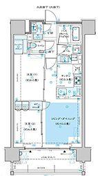 ディームス渋谷本町 12階2LDKの間取り