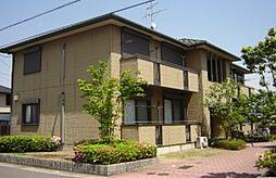 滋賀県野洲市西河原4丁目の賃貸アパートの外観