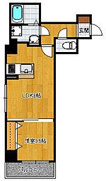 リバティ神屋[9階]の間取り
