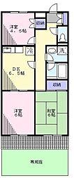テアー・ガルテン[1階]の間取り