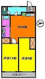 グランパルクG8[1階]の間取り