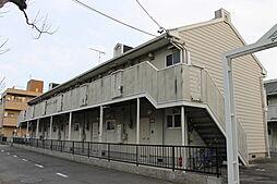 愛知県岡崎市柱5丁目の賃貸アパートの外観
