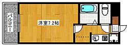 ランドスケープビル[311号室]の間取り