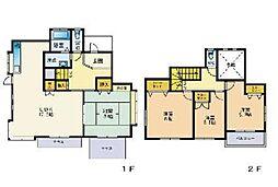 [一戸建] 福岡県福岡市西区愛宕浜4丁目 の賃貸【/】の間取り