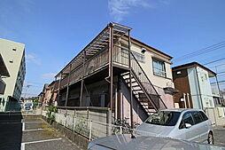 千葉県市川市菅野5丁目の賃貸アパートの外観