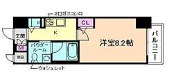 エスライズ梅田DOSHIN[2階]の間取り