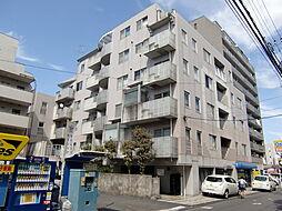 東京都八王子市散田町3丁目の賃貸マンションの外観