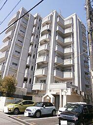 愛知県岡崎市欠町字三田田北通の賃貸マンションの外観