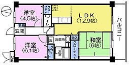 COMFORT21[3階]の間取り