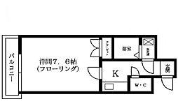 藤崎カステリア[303号室]の間取り
